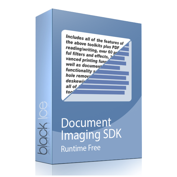 Document Imaging SDK - runtime free