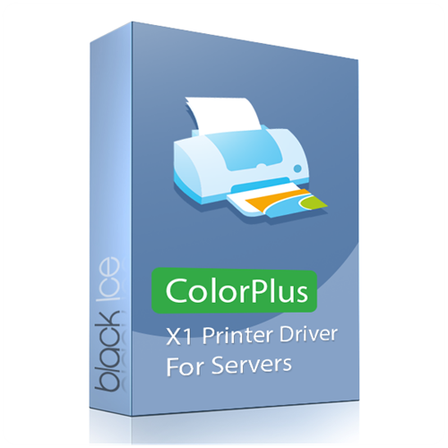 ColorPlus X1 Printer Driver for Terminal Server