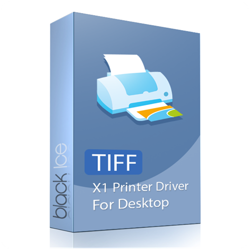 TIFF/Monochrome X1 Printer Driver